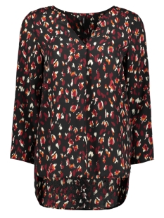 Vero Moda T-shirt VMSABBY ZIGGA 7/8 TOP FD18 10214939 Cabernet/SABBY