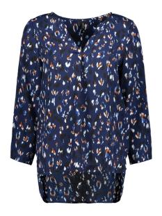 Vero Moda T-shirt VMSABBY ZIGGA 7/8 TOP FD18 10214939 Blueprint/SABBY