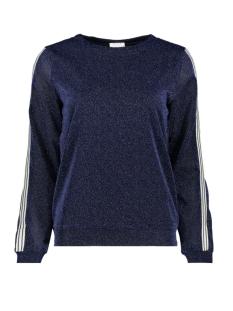 Vila T-shirt VILUX L/S TOP 14050843 Navy Blazer