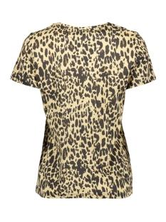 nmxo s/s top x 27007511 noisy may t-shirt black/true leopard