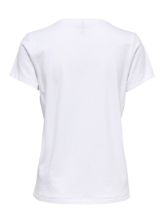 onlkita s/s new/fab/finesse top box 15168483 only t-shirt bright white/finesse1