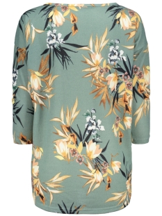 onlelcos 4/5 aop top jrs noos 15144286 only trui chinois green/flowers co