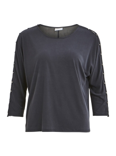 Vila T-shirt VILOLANA 3/4 SLEEVE T-SHIRT 14050641 Black/METALLIC B
