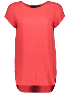 Vero Moda T-shirt BOCA SS BLOUSE NOOS 10104030 Chinese Red