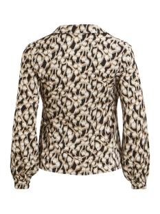 visalpa l/s top /rx 14052865 vila blouse black/graphic print