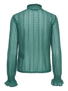 onlelma ls highneck top wvn 15171039 only t-shirt cadmium green