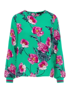 Vero Moda T-shirt VMHOLLY L/S MIDI TOP D2-1 WVN 10210142 Holly Green