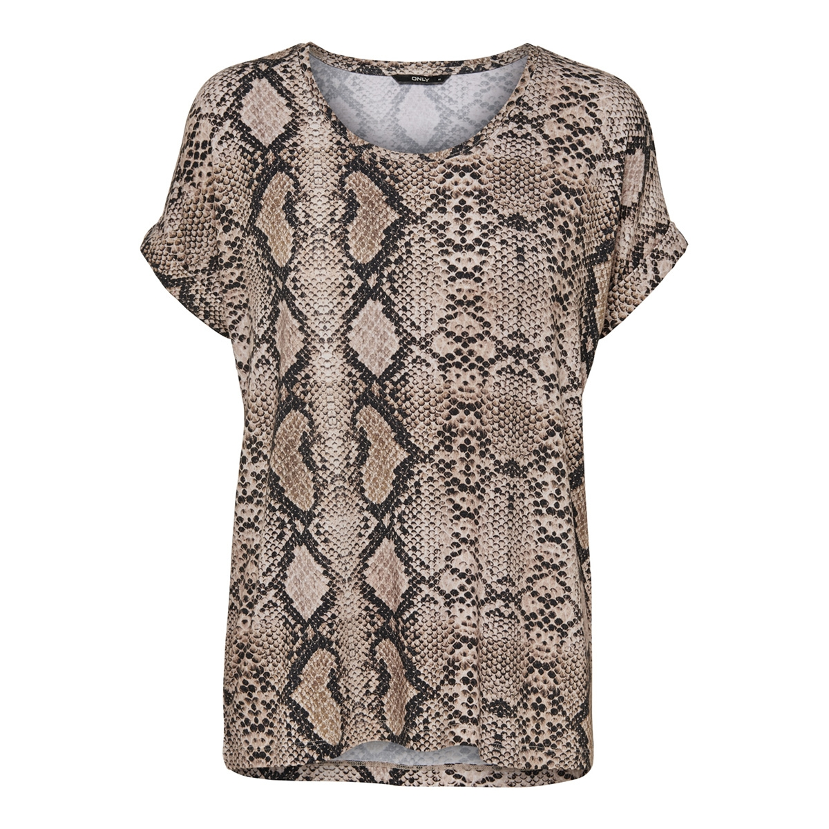 onlmoster aop s/s top jrs 15182852 only t-shirt black/snake