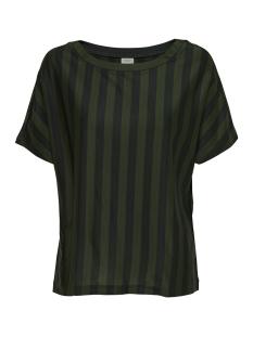 Jacqueline de Yong T-shirt JDYMINNA S/S TOP JRS 15163057 Black/DUFFEL BAG