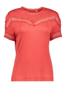 Aaiko T-shirt JEMISA VIS 176 VOLCANO RED