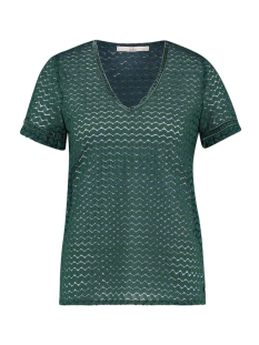 Aaiko T-shirt FLORY CO 246 EMERALD GREEN