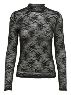 Only T-shirt onlMERTLE L/S TURTLENECK TOP JRS 15166557 Black
