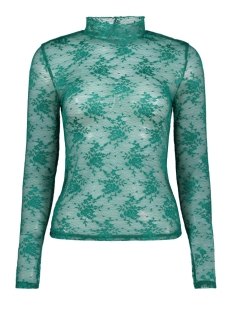 Only T-shirt onlMERTLE L/S TURTLENECK TOP JRS 15166557 Cadmium Green