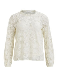 Vila Trui VIMAGINA L/S LACE TOP 14051141 Cloud Dancer