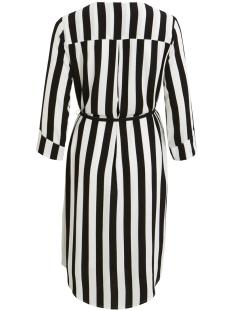 objbay 3/4 dress aop seasonal 23029368 object jurk black/w. white s