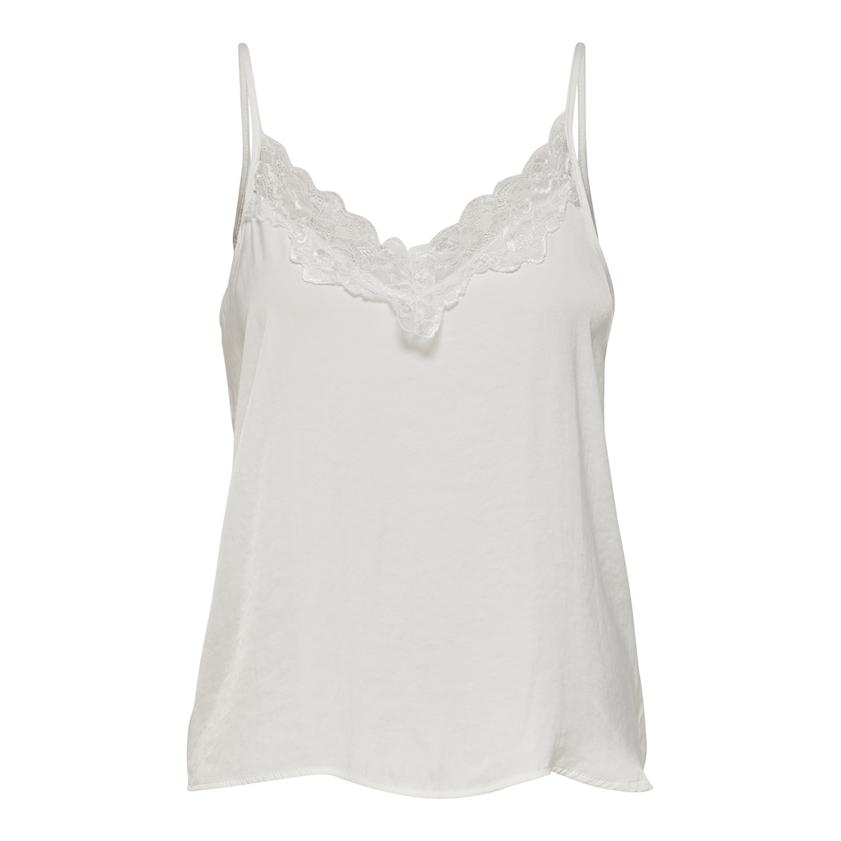 jdyappa lace singlet wvn noos 15148129 jacqueline de yong top cloud dancer/dtm lace