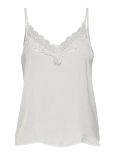 Jacqueline de Yong Top JDYAPPA LACE SINGLET WVN NOOS 15148129 Cloud Dancer/DTM LACE