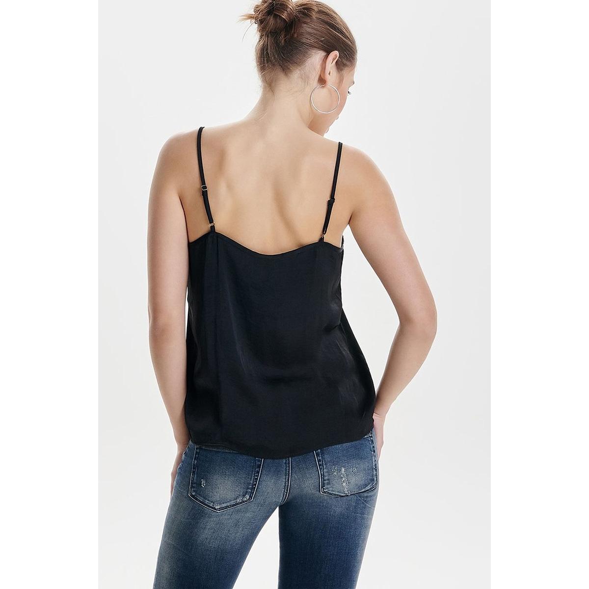 jdyappa lace singlet wvn noos 15148129 jacqueline de yong top black/dtm lace