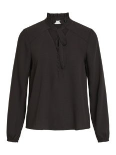 Vila Blouse VISIGGY L/S BOW TOP 14050792 Black
