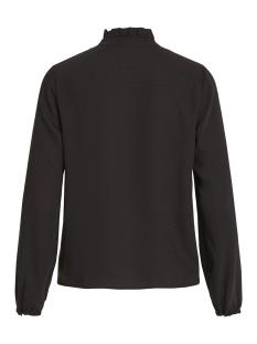 visiggy l/s bow top 14050792 vila blouse black