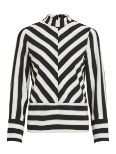 Object Blouse OBJSANNE L/S TOP 101 23028717 Gardenia/STRIPE