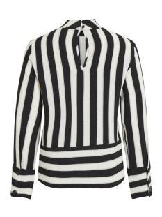 objsanne l/s top 101 23028717 object blouse gardenia/stripe