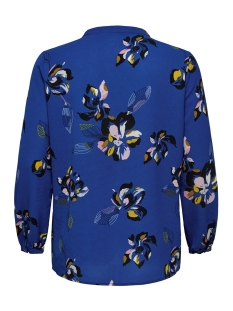 carlux cecilia ls top aop 1 15172706 only carmakoma t-shirt surf the web/blue flower