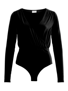 Vila T-shirt VISEEBA L/S BODYSTOCKING 14050805 Black
