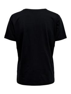 onlbali s/s color t-shirt jrs 15178588 only t-shirt black/flock color