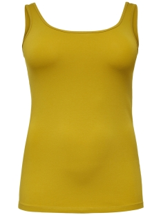 Only Carmakoma Top CARTIME TANK TOP 15164345 Lemon Curry