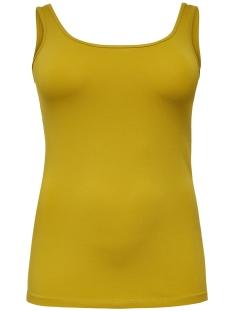 Only Carmakoma Top CARTIME TANK TOP 15164345 Lemon Curry