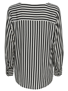 jdyisha l/s blouse wvn 15169564 jacqueline de yong blouse cloud dancer/black