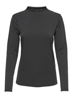 Jacqueline de Yong T-shirt JDYDOTTA L/S TOP JRS 15165987 Black/DOTS