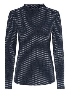 Jacqueline de Yong T-shirt JDYDOTTA L/S TOP JRS 15165987 Sky Captain/DOTS