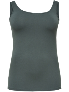 Only Carmakoma Top CARTIME TANK TOP 15164345 Balsam Green