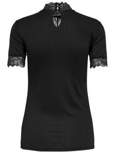 jdyrine 2/4 highneck top jrs noos 15171895 jacqueline de yong t-shirt black/dtm lace a