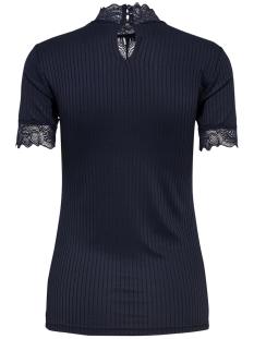 jdyrine 2/4 highneck top jrs noos 15171895 jacqueline de yong t-shirt sky captain/dtm lace a