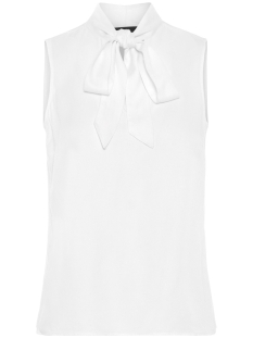 Vero Moda Top VMLISA S/L TOP BOX WVN 10210394 Snow White/SOLID