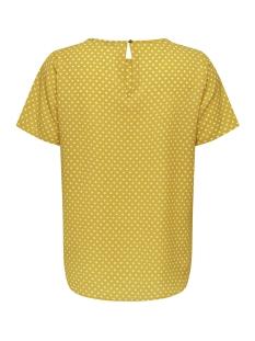 carluxcecilia ss top aop 1 15172708 only carmakoma t-shirt lemon curry/lemon curry