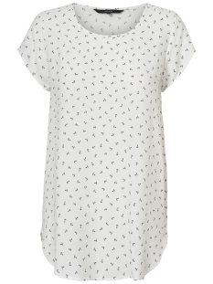 Vero Moda T-shirt VMBOCA SS BLOUSE MULTI AOP 10132802 Snow White/ANCHOR