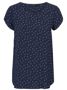 Vero Moda T-shirt VMBOCA SS BLOUSE MULTI AOP 10132802 Night Sky/ANCHOR