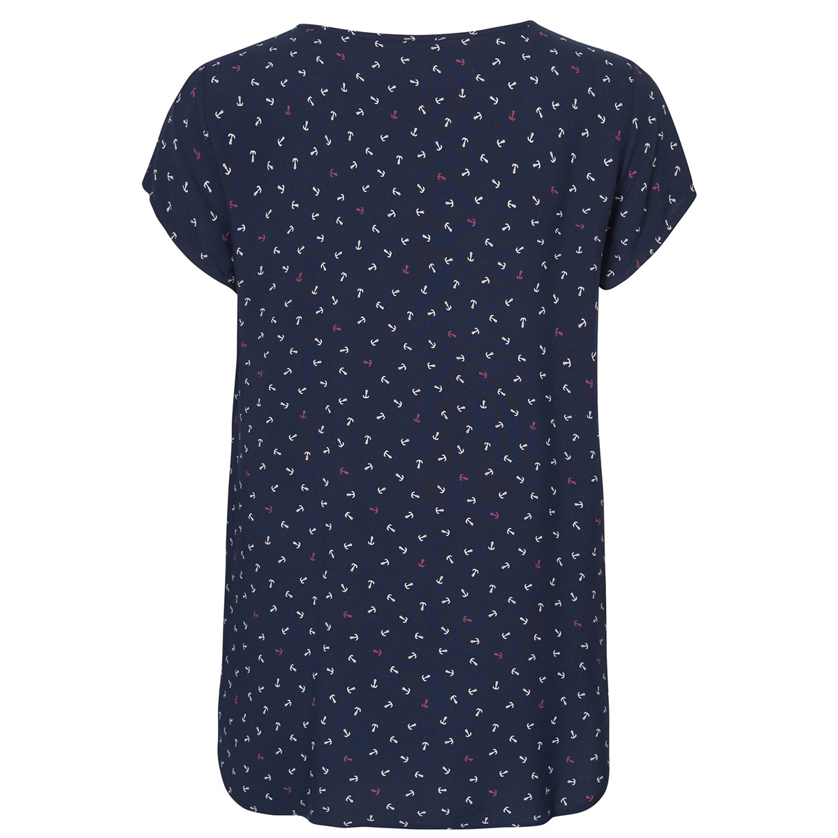 vmboca ss blouse multi aop 10132802 vero moda t-shirt night sky/anchor