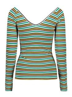 onlfifi l/s v-neck top jrs 15174303 only t-shirt cloud dancer/multi color