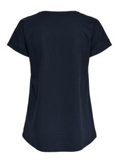 jdylouisa s/s fold up top jrs noos 15157925 jacqueline de yong t-shirt sky captain