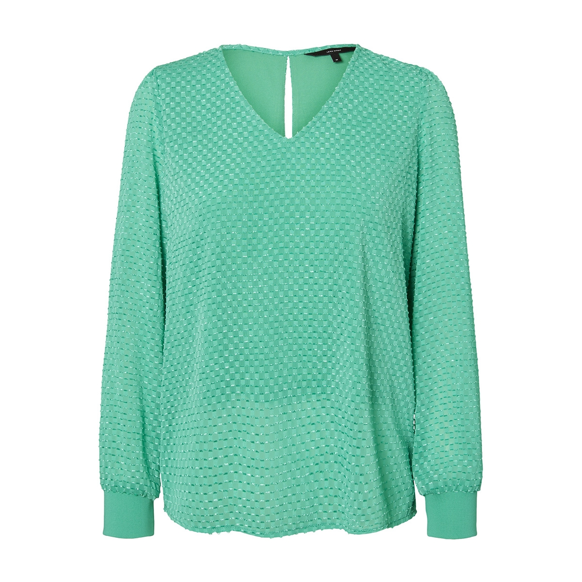 vmamelia ls  top wvn 10210329 vero moda blouse holly green