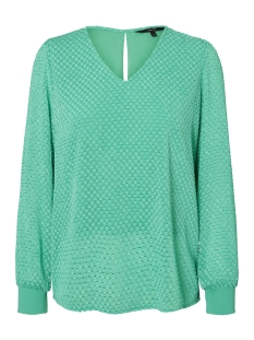 Vero Moda T-shirt VMAMELIA LS  TOP WVN 10210329 Holly Green
