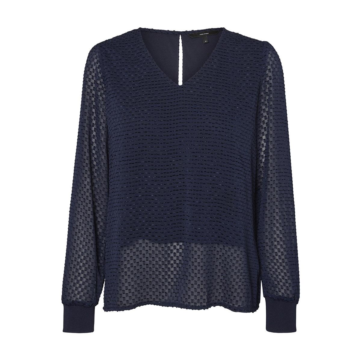 vmamelia ls  top wvn 10210329 vero moda t-shirt night sky