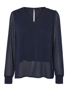 Vero Moda Blouse VMAMELIA LS  TOP WVN 10210329 Night Sky