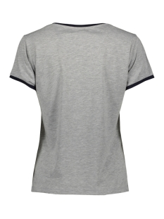 nmalbert print s/s top x3 27007306 noisy may t-shirt light grey mela/ dream
