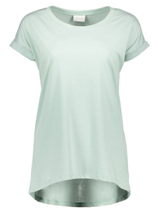 vidreamers pure t-shirt-fav 14043506 vila t-shirt blue haze
